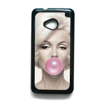 Marilyn Monroe Bubble Gum for HTC One M7/M8/M9 phonecase