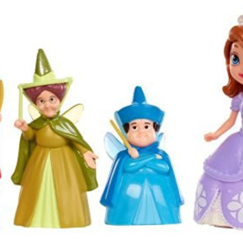 "Disney Sofia The First 3"" Sofia and Fairy Godmothers Doll Pack"
