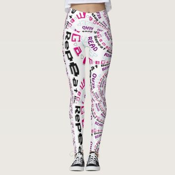 Rad Chic Gamer Geek Lifestyle Leggings
