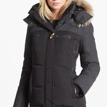 Pajar 'Tory' Genuine Coyote Fur Trim Mixed Shell Parka | Nordstrom