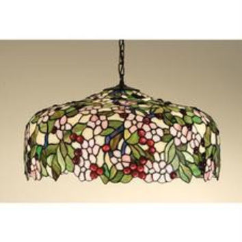 20 Inch W Cherry Blossom Pendant Ceiling Fixture