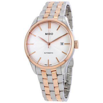 Mido Belluna II Automatic Silver Dial Mens Watch M024.407.22.031.00