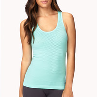 Seamless Perforated Workout Tank