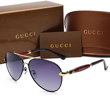 One-nice™ GUCCI Personality Fashion Popular Sun Shades Eyeglasses Glasses Sunglasses H-A50-AJYJGYS