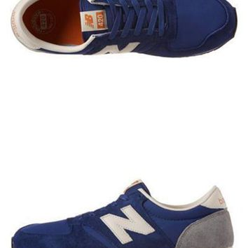 DCCK8NT new balance u420 s trainers rbb deep blue
