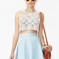 Nasty Gal x MINKPINK Caroline Chambray Skirt in Clothes at Nasty Gal