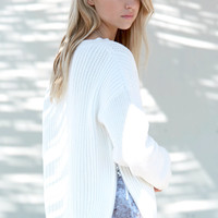 Honey Punch Side Zip Pullover Sweater at PacSun.com
