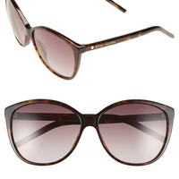 MARC JACOBS 58mm Butterfly Sunglasses | Nordstrom