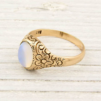 Gold Victorian Opal Ring | Shop | Erstwhile Jewelry Co.