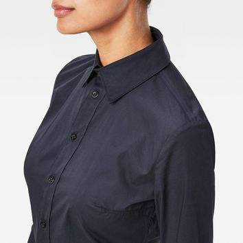Core 3D Slim Shirt | Mazarine Blue | Women | G-Star RAW®
