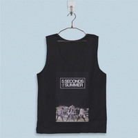 Men's Basic Tank Top - 5 Seconds of Summer Band Tour