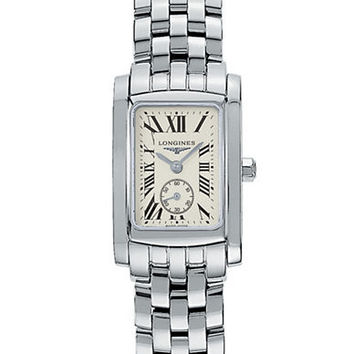 Longines Ladies Dolce Vita Stainless Steel Watch