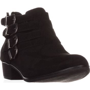 AR35 Darie Strappy Ankle Boots, Black, 7 US