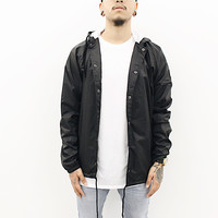 Marty Windbreaker Jacket (Black)