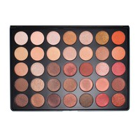 35 Colour Shimmer Nature Glow Eye Shadow Palette (35OS) by Morphe Brushes