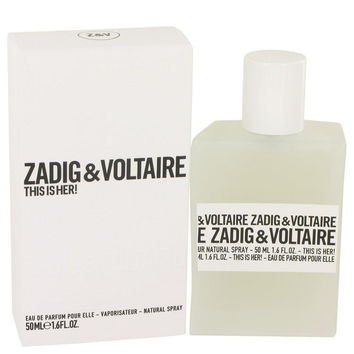 This is Her by Zadig & Voltaire Eau De Parfum Spray 1.6 oz