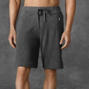 Polo Ralph Lauren Waffle-Knit Cotton Sleep Short at Von Maur