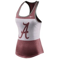 Nike Alabama Crimson Tide Dri-FIT Performance Mesh Tank Top - Women's, Size: