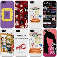 tumblr Friends TV Show Black Plastic Case Cover Shell for iPhone Apple 4 4s 5 5s SE 5c 6 6s 7 Plus