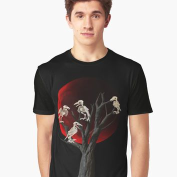 'Dead tree ' Graphic T-Shirt by ValentinaHramov