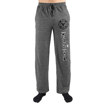 Kingdom Hearts Mickey & Heart Emblem Sleep Pants