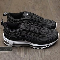 Nike Air Max 97 Women Men Running Sport Casual Shoes Sneakers Army Green G-A0-HXYDXPF