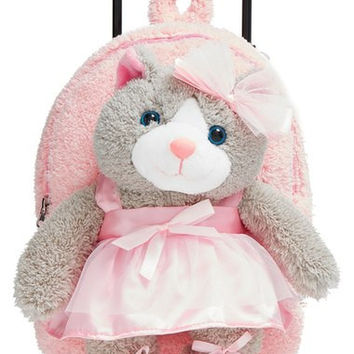 'Ballet Kitty' Rolling Backpack