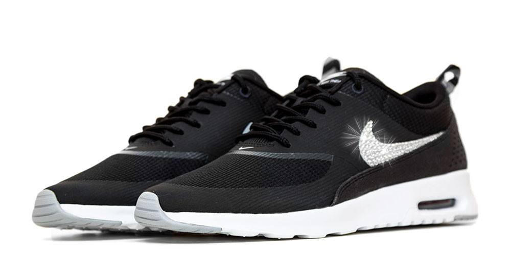 ... promo code nike air max thea crystals black white c6a20 1af0b ... bb00c914d