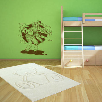 Zombie decal Superheroes stickers Vinyl Kids Room Stylish Wall Art Sticker 10363