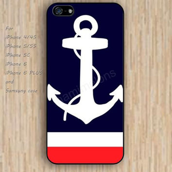 iPhone 5s 6 case black anchor watercolor flowers dream phone case iphone case,ipod case,samsung galaxy case available plastic rubber case waterproof B737