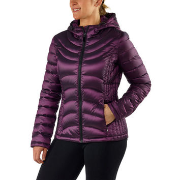 Andrew Marc Ladies' Packable Down Jacket-Purple
