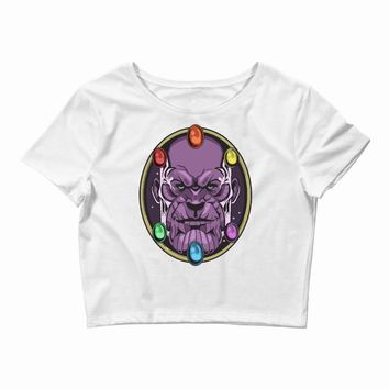 thanos 2 Crop Top