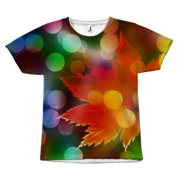 """""""Psychedelic Foliage"""" All-over tee  - 6 Sizes"""