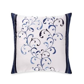 Manor Hill® Lana Embroidered Square Throw Pillow