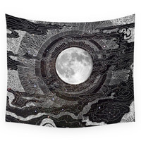 Society6 Moon Glow Wall Tapestry
