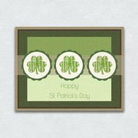 Blank St. Patrick's Day Cards - Sets of 5, 10 and 15