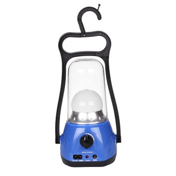 Rechargeable 3W LED Dimming 360° Lantern Lamp Portable Emergency Outdoor Camping