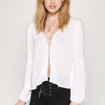 AMUSE SOCIETY - Spencer Top | White