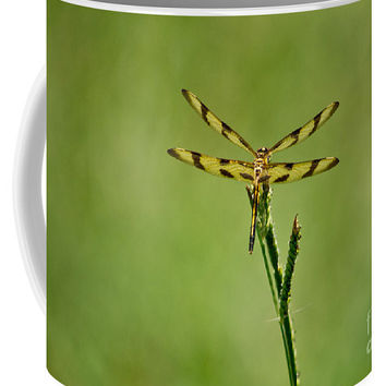 Halloween Pennant Dragonfly Coffee Mug