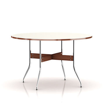Nelson Swag Leg Round Dining Table by  herman miller