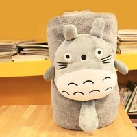 Sp Mall Creative Plush Toys, Totoro Blanket / Pillow