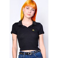 Corrie Sunflower Knit Polo