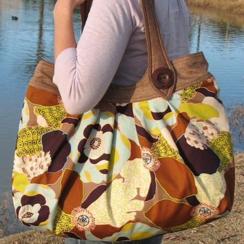 Nikki Tote Bag PDF Sewing Pattern by PaisleyPearQuilts on Etsy