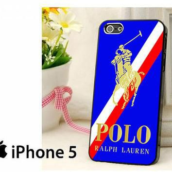 Polo Ralph Lauren White Red Stripe Hard Case for iPhone 4,iPhone 4s,iPhone 5,iPhone 5s