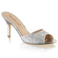 Silver Sparkle Lucy Sandals