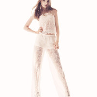 Lace Pants - from H&M