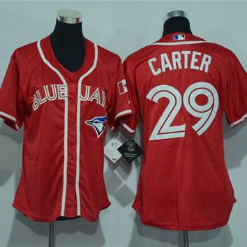 Women's Toronto Blue Jays #29 Joe Carter Cool Base Player Jersey