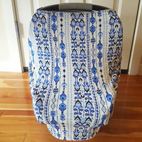 Car Seat Cover, Nursing Cover.  Multifunctional Car Seat Cover, Stretchy Cover, Multiuse cover, Stretch Baby Car Seat Cover