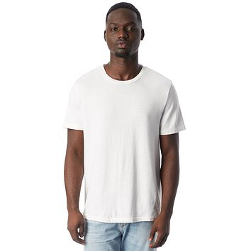 Alternative Apparel - The Outsider Heavy Wash Jersey White T-shirt