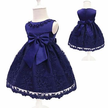Infant Girls Dresses 2018 Summer For 0-1 Year Girls Princess Party Dress Toddler Birthday Dress Christmas Baby Clothes 4ds100